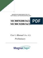 C0308G-MC016 (MC80F0308) - Datasheet