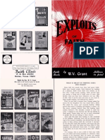 Exploits of Faith by W. v. Grant, Sr
