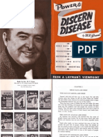 Power to Discern Disease by W. v. Grant, Sr