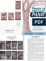 Power to Prevent Panic - Cool and Collective by W. v. Grant, Sr