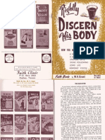 Rightly Discern His Body by W. V. Grant, Sr