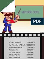 Mikroteknik Metode Oles