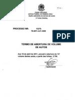Processo 13279-78.2011.4.01.3500 Volume 13 - 2706 a 2806