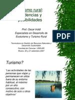 Turismo en Espacios Rurales UDELAR 2007