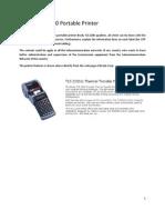 BRADY TLS 2200 Portable Printer