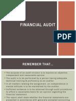 Financial Audit - Curs 2