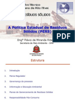 pol;itica estadual de resíduos sólidos