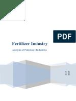 Fertilizer Industry - Roydon D'Mello