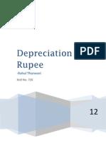 Depreciation of Rupee