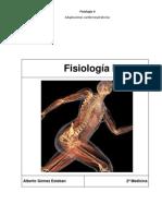 Fisiologia II. Temario Completo