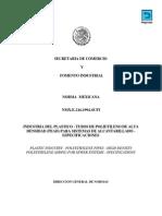 Nmx-e-216-1994-Tubos de Polietileno de Alta Densidad Para Alcantarillado