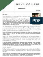 Newsletter 2 Easter Term 2012