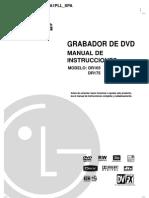 Manual LG DR165