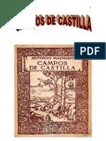 Analisis Literario Campos de Castilla