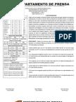 Reporte #30 Guaros - Panteras