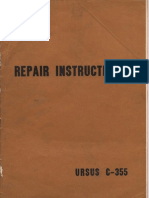 Ursus C-355 Service Manual English