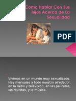Sexualidad en Niños d Primaria