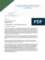 Nuciforo Letter to Coakley