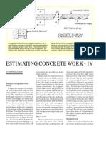 Estimating Concrete Work -- Part IV_tcm45-340159