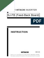 Hitachi Sj Fb Inverter Feedback Board (1)