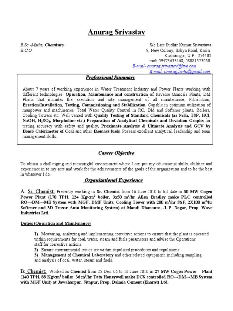 Anurag Srivastav Updated New | Boiler | Chemistry