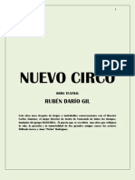 NUEVO CIRCO obra de teatro de Rubén Darío Gil