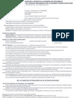 Oferta de scolarizare a Serviciului Roman de Informatii (sesiune 2012)
