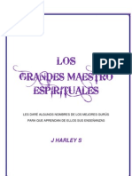 MAESTRO ESPIRITUALES Y/O GURUS