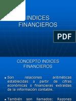 Razones Financieras 2012