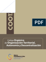 COOTAD Ecuador