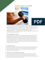 Cómo ganar masa muscular rápido y en casa