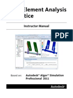 FEA in Practice_2011 (Instructor Manual)