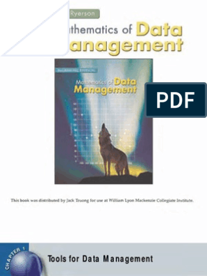 McGraw-Hill - Data Management (Full Textbook Online) | Spreadsheet