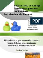 Ifac vs Cpa Panama