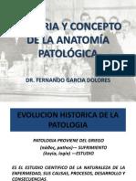 1.- Def y Evolcion de La Patologia