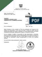 Ecuador.  Proyecto Ley de Comunicación. Versión 04-04-2012