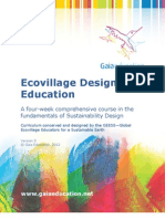 Gaia Education Ecovillage Design Education Curriculum, Version 5