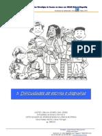 5 - Dificuldades de Escrita e Disgrafias