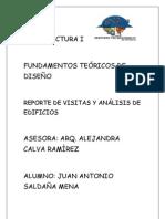 Juan Antonio Saldaña Mena Analisis de Los 20 Edificios y de Las Visitas