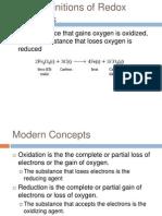 Ph Ch 20 Redox Reactions