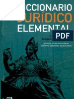 Diccionario Jurídico Elemental - Guillermo Cabanellas de Torres