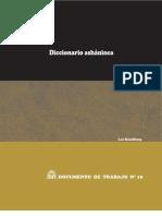 Diccionario ashaninka español