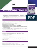 Ficha Técnica Pegamento Isomur