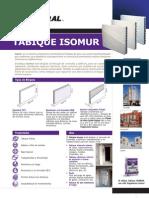 Ficha Tabique Isomur