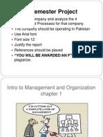 Management Principles - Chapter 01
