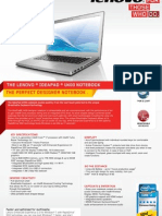 IdeaPad U400 Datasheet US