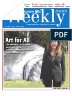 Art for All--Beverly Hills Weekly, Issue #653