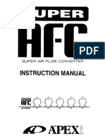 Apexi Installtion Instruction Manual: S-AFC 2 / SUPER AIR ... on