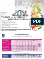 St Training Planner 2012