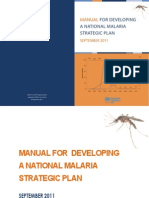 Malaria Manual Final Report